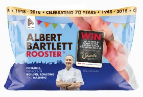Albert Bartlett celebrates 70 years with retro packs
