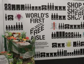 Plastic-Free Aisle on show in UK