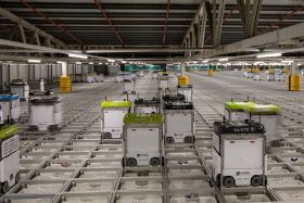 "Ocado robots ""ramping up"" capacity"