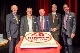 Kronen celebrates 40th anniversary