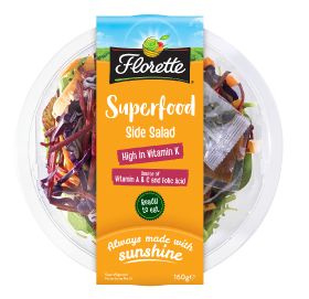 Florette launches Superfood Side Salad bowl