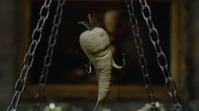 Pascale the Parsnip tackles Kevin the Carrot