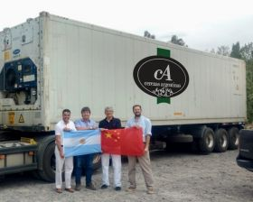 Cerezas Argentinas hails China first