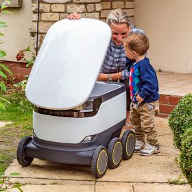 Tesco added to robot buggy delivery service