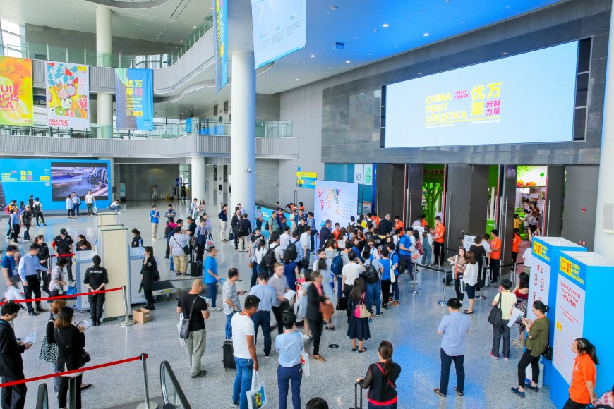 China Fruit Logistica brings in buyers