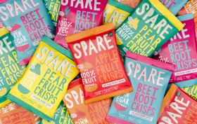 Spare Snacks launches new wonky veg crisps range