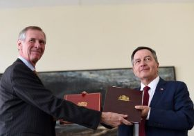 UK, Chile sign continuity agreement