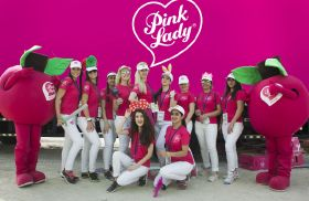 Pink Lady promotes healthy living