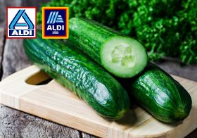 Aldi scraps plastic packaging on cucumbers