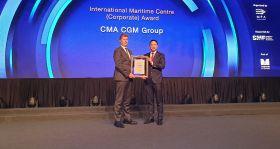CMA CGM recognised in Singapore