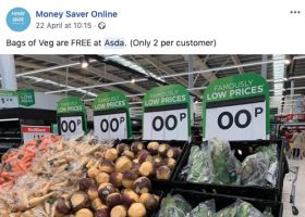 Asda gives away veg for free again