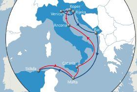Connecting the Adriatic and Algeria