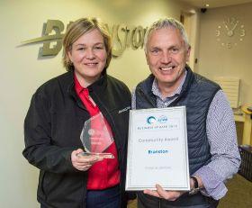Branston lands Tesco award as growers go green