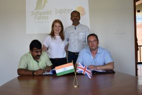 Jupiter awards Sahyadri Farms exclusive Arra rights