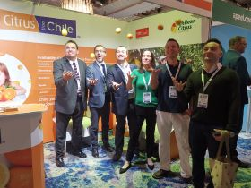 Citrus from Chile heads for London