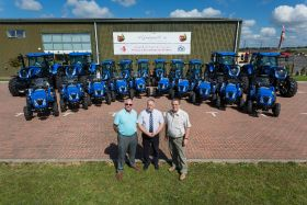 Record tractor delivery for AC Goatham
