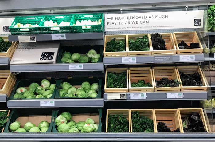 Waitrose Unpacked veg