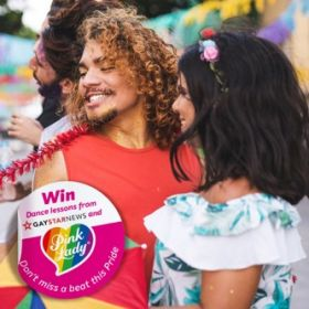 Pink Lady gives away dance lessons in Pride promo