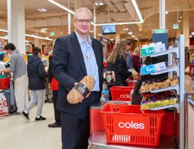 Coles partners with Microsoft
