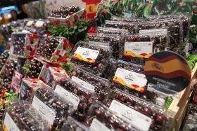 Thailand opens to Spanish cherries