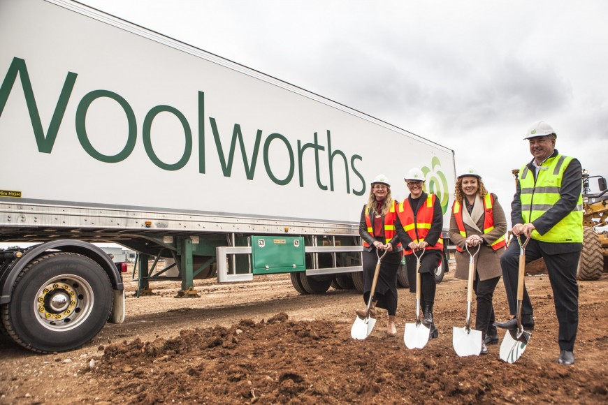 Woolworths distribution upgrade