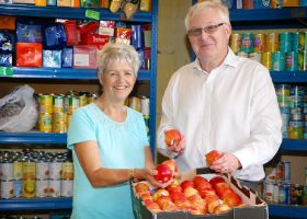 MWW donates fresh produce to local foodbank