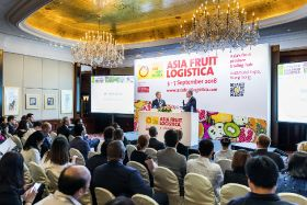 Asia Fruit Logistica on track