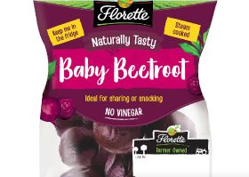 Bite-sized beetroot on Florette's menu