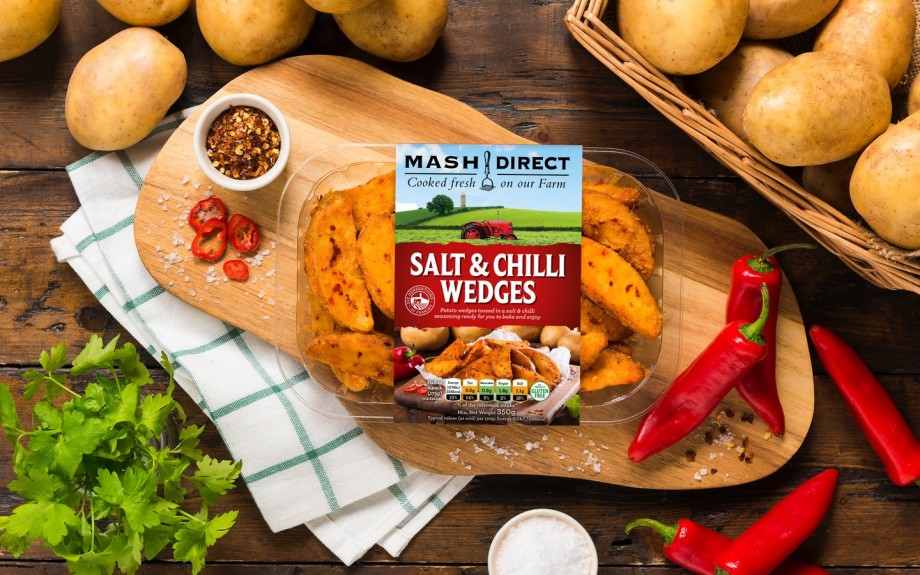 Mash Direct launches new potato wedges line