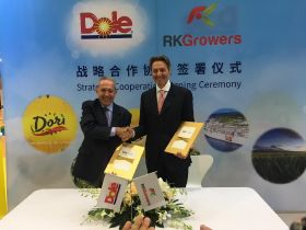 Dole and RK Growers sign China deal