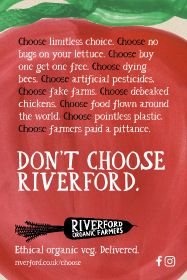 Riverford launches provocative new ad campaign