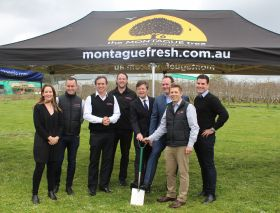 Montague starts work on new facility