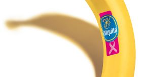 Chiquita banana labels turn pink again
