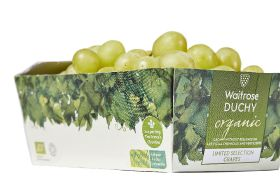 Waitrose launches UK's first cardboard grape punnet