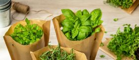 Asda ditches plastic herb packaging