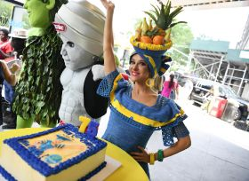 Miss Chiquita celebrates 75th birthday