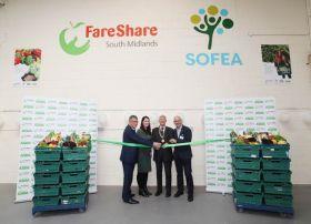 FareShare opens Milton Keynes warehouse