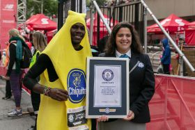 Chiquita backs world record runner