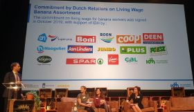 Dutch retailers in banana pledge