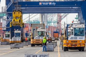 Busy July at Port of LA