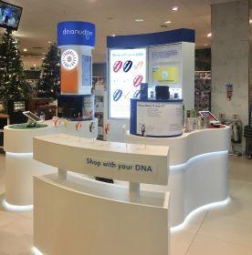 """""""DNA shopping"""" pop-up lands in Waitrose"""