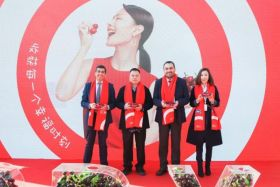 Guangzhou celebrates arrival of Chilean cherries