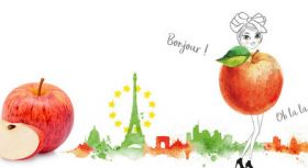 Colombians get a taste for French apples
