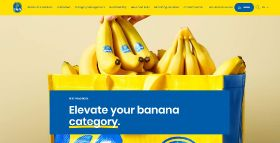 Chiquita launches new B2B website