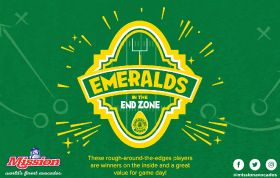 Mission's Emeralds in the End Zone campaign returns