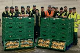 Puffin Produce donates spuds to local charity