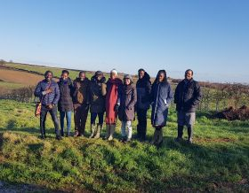 Agri development students visit Rutland farm
