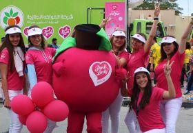 Pink Lady sponsors Dubai run