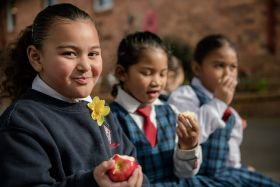 Kids encouraged to consume fruit and veg