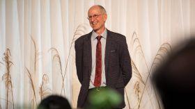Ian Greaves awarded Hayward Medal